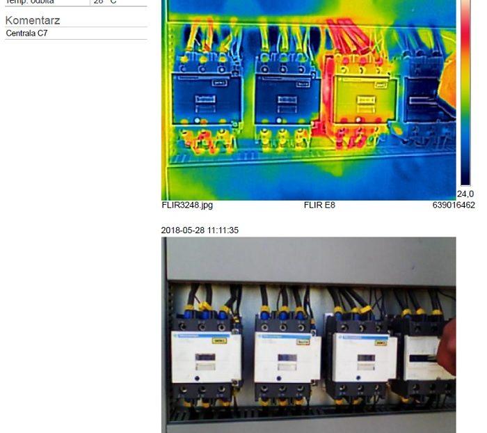badanie termowizyjne centrali